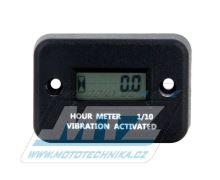 Počítadlo motohodin Standard (bezdrátový / vibrační)