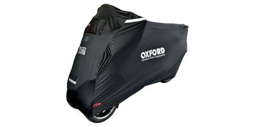 Plachta na skútry s přední nápravou Protex Stretch Outdoor s klimatickou membránou, OXFORD (černá, uni velikost)