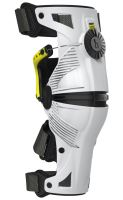 Kolenní ortézy X8 sada L/P, MOBIUS - USA (bílá/žlutá, malé velikosti)