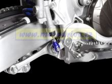 ZETA Vidlička/klema pedálu Yamaha YZF250,WRF,FX modrá YZF 2003--