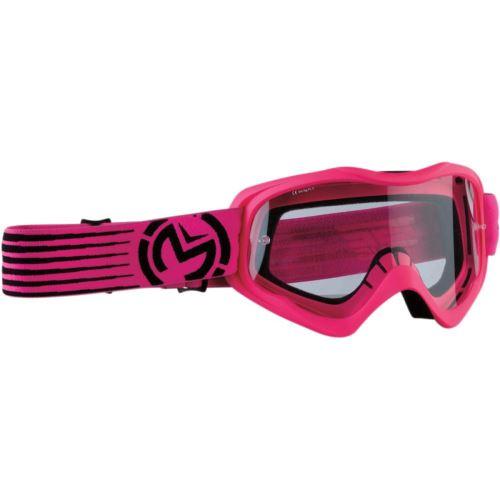 MooseRacing dětské brýle QUALIFIER SLASH - pink/black