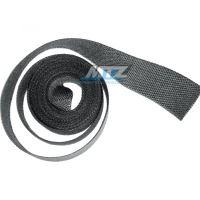 Páska izolační na výfuk 50mm / návin 10m (750°C) - šedá