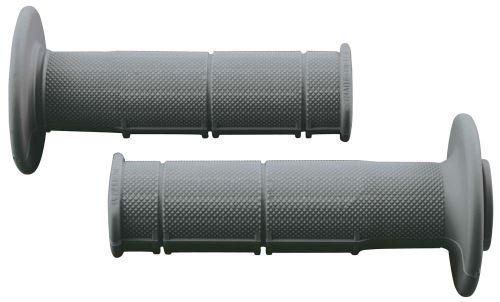 Gripy Racing (měkké), RTECH (šedé, pár, délka 116 mm)
