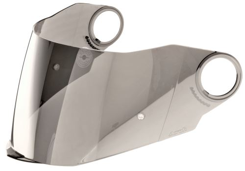 Plexi pro přilby MOVEMENTS S/STORM/ST301, AIROH (stříbrné zrcadlové)