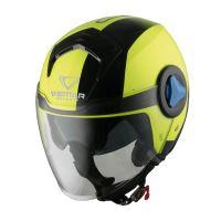 Přilba Breeze Radar, VEMAR (žlutá fluo, vel. XS)