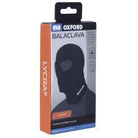 Kukla s odděleným průzorem pro oči Balaclava Lycra®, OXFORD (černá)