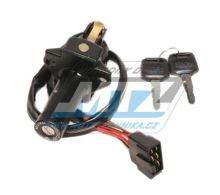 Spínací skříňka (5pólový konektor) - Honda CBR600F (PC19/PC23) / 87-90 + CBR1000F (SC21) + VF1000F Interceptor + VF500+VF700+VF750+VF1100