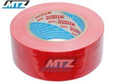 Páska americká (textilní Duct Tape) - 48mmX50m - červená