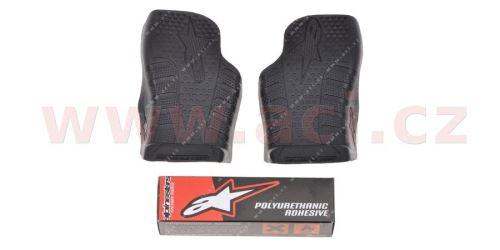 Středy podrážek pro boty TECH 7 modely do 2013, ALPINESTARS - Itálie (černé, pár)