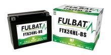 Baterie 12V, YTX24HL-BS, 22,1Ah, 350A, bezúdržbová MF AGM 205x87x161, FULBAT (vč. balení elektrolytu)