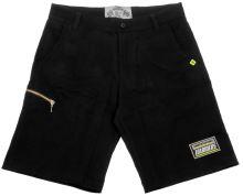 Kraťasy Black Shorts 18, 101 RIDERS - ČR (černé , vel. XS)