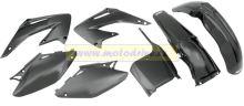UFO PLAST Sada plastů Suzuki RMZ 250 2011-2012 Černá