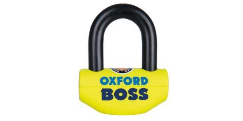 Zámek U profil Boss, OXFORD (žlutý/černý, průměr čepu 12,7 mm)