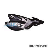 Bástry (kryty páček) Racetech/MEC RAPTOR včetně universálního montážního kitu - barva černá