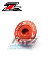 Zátky motoru ZETA Husqvarna + KTM 250SXF350SXF / 11-19 + 250EXCF+350EXCF / 12-19 + 450SXF+505SXF / 07-12 + 450SMR + Freeride 250+350 - oranžové