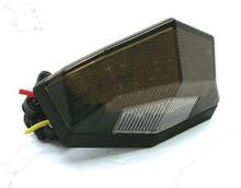 Zadní světlo Edge2 12V - kouřové (osvětlení SPZ bílé barvy)