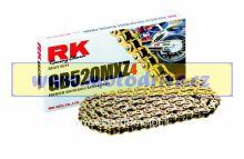 RK Řetěz 520 MXZ 4 zlatý