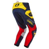 Kalhoty O´Neal Hardwear REFLEXX modrá/žlutá 3
