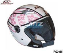 Přilba na skútr Progrip 3056 Scooter Women Pink - velikost L