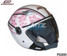 Přilba na skútr Progrip 3056 Scooter Women Pink - velikost M