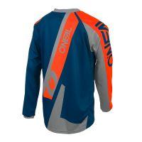 Dres O´Neal Element FR HYBRID modrá/oranžová