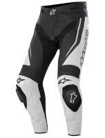 Kalhoty Track, ALPINESTARS - Itálie (bílé/černé)