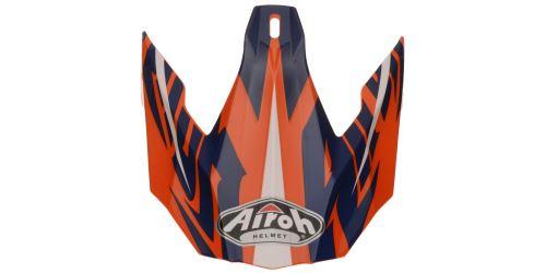 Náhradní kšilt pro přilby TWIST Mix, AIROH - Itálie (oranžová/modrá/bílá)