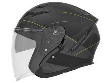 Přilba N127 FUSION, NOX (černá matná/šedá/žlutá fluo)