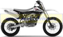 UFO PLAST Sada plastů Yamaha YZF 450 2013 OEM-černá/bílá