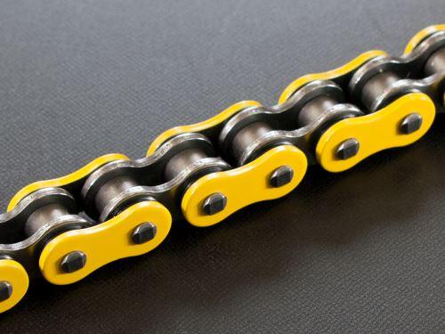 RK řetěz 520H žlutá 118 čl