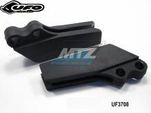 Vodítko řetězu Kawasaki KX125+KX250 / 97-02 - (barva černá)