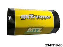 Polstr/Kostka na bezhrazdová řidítka 28,6mm - žlutý
