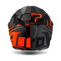 Přilba GP500 Sectors, AIROH - Itálie (černá/oranžová, vel. XL)