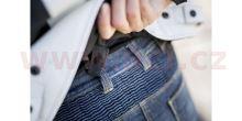 Kalhoty, jeansy J&RACING LADY, SPIDI - Itálie, dámské (tmavě modré, obšívka Cordura®/denim bavlna)