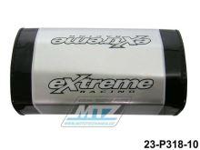 Polstr/Kostka na bezhrazdová řidítka 28,6mm - stříbrný