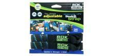 Popruhy ROK straps HD nastavitelné a zesílené, OXFORD (černá/modrá/zelená, šířka 25 mm, pár)