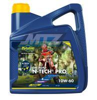 Olej motorový motocyklový Putoline N-TECH PRO OFFROAD 10W/60 (balení 4L)