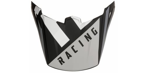 Kšilt pro přilbu ELITE, FLY RACING - USA (černá/šedá)