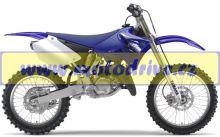 UFO PLAST Sada plastů Yamaha YZ 125 2006-2012 YZ-Bílá