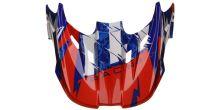 Kšilt pro přilbu SHOCKED, FLY RACING - USA (černá/hi-vis)