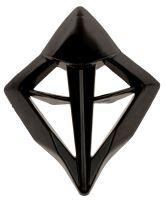 Čelní kryt ventilace přilby X1.9 a X1.9D, ZED (černý)