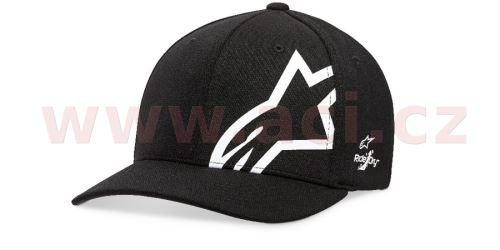 Kšiltovka CORP SHIFT SONIC TECH HAT, ALPINESTARS (černá/bílá)