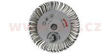 Turbo ježek - drátěný kotouč s nástavcem na vrtačku pro odstanění silných vrstev laku, ochrany podvozku