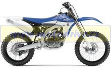 UFO PLAST Sada plastů Yamaha YZF 450 2013 Reflexní modrá