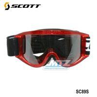 Brýle Scott 89S dětské červené