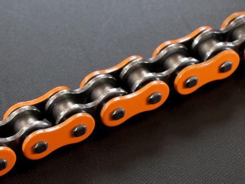 RK řetěz 520H oranžová 118 čl