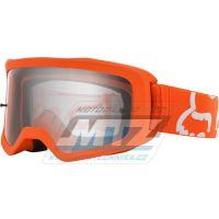 Brýle FOX MAIN II Race Goggle MX20 - oranžové Fluo