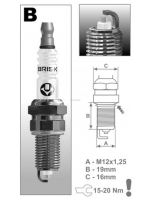 Zapalovací svíčka BR14YS-9 řada Super, BRISK - Česká Republika
