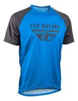 Dres SUPER D, FLY RACING - USA (modrá/šedá)