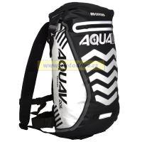 Oxford Vodotěsný batoh Aqua V20 Extreme Visibility, Anglie (černá/reflexní prvky, objem 20l)
